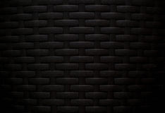 Black woven carbon fibre textured Stock Photos