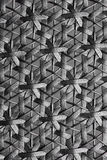 Black woven texture background Stock Image