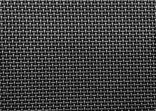 Black woven texture background Royalty Free Stock Photography
