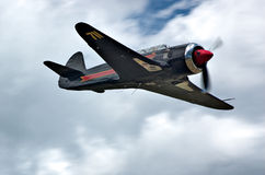Black YAK. 11 aircraft stock image