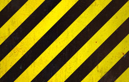Black and yellow background. Black and yellow under construction background stock illustration