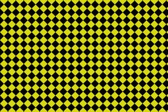 Black and yellow checkerboard background -Vector ilustration - EPS 10 royalty free illustration