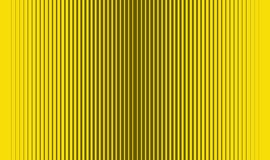 Black and yellow gradient stripes. Gradient thick and thin black and yellow stripes Stock Photo