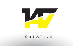 147 Black and Yellow Number Logo Design. 147 Black and Yellow Number Logo Design cut in half Stock Photo