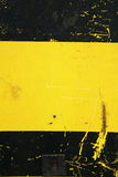 Black and yellow paint Royalty Free Stock Images