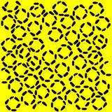 Black and yellow pattern Stock Photo