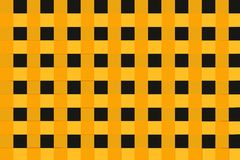 BLACK AND YELLOW SQUARES Stock Image