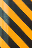 Black and yellow strip line background Royalty Free Stock Images
