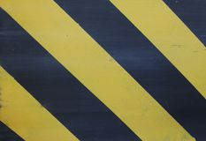 Black and yellow striped background stock image