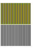 Black and yellow stripes Royalty Free Stock Photography