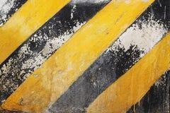 Black and Yellow Stripes Royalty Free Stock Photos
