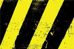 Black And Yellow Stripes vector illustration