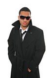 Black Young Male Fashion Model Royalty Free Stock Images