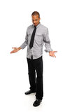 Black young Man standing Stock Image