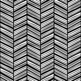 Black zigzag lines Stock Image