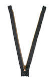 Black zipper Stock Photography