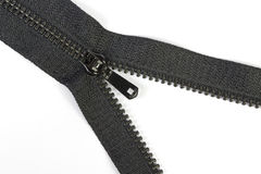 Black zipper Stock Photos