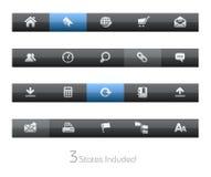blackbar серии интернета распологают сеть Стоковые Изображения