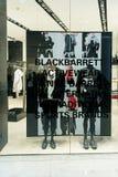 Blackbarrett a Emquartier Tailandia, il 3 settembre 2017 Immagini Stock