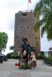 Blackbeard& x27;s castle Stock Image