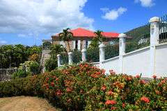 Blackbeards Castle in St Thomas Royalty Free Stock Image