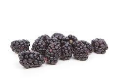 Blackberries. Fruit on a white background royalty free stock photos