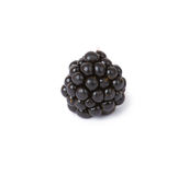 Blackberries. Ripe juicy blackberries isolated on white background stock photography
