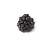 Blackberries. Ripe juicy blackberries isolated on white background Stock Photography