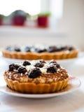 Blackberries cakes Royalty Free Stock Photos