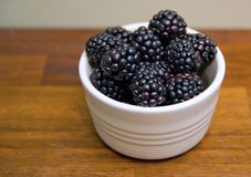 Blackberries close up Royalty Free Stock Images