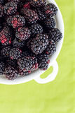 Blackberries on Green Stock Photos