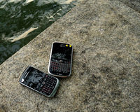 Blackberry bold and curve Royalty Free Stock Photos