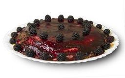 Blackberry cake Stock Photo