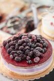 Blackberry cake Stock Images