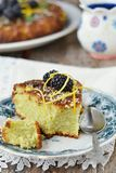 Blackberry cake Stock Image