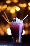Blackberry cocktail Royalty Free Stock Images