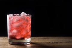 Blackberry-Cocktail Lizenzfreie Stockfotos