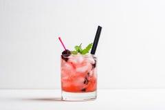 Blackberry-Cocktail Stockfotografie