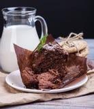 Blackberry cupcake Royalty Free Stock Photo