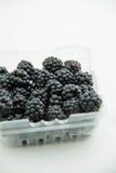 Blackberry fruktgrupp Arkivfoton