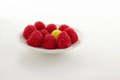 Blackberry galaretowacieje czerwień, zieleń, kolor żółtego i błękit, Zdjęcie Royalty Free