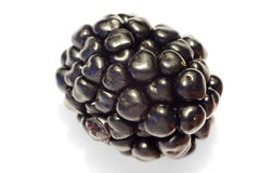 Blackberry Isolated With White Background 2 Royalty Free Stock Photography