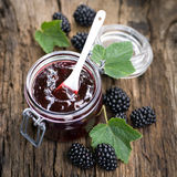 Blackberry jam Royalty Free Stock Photography