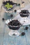 Blackberry jam Royalty Free Stock Photo