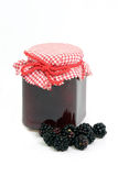 Blackberry jam Stock Image