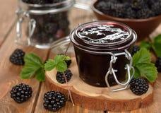 Blackberry jam Stock Images