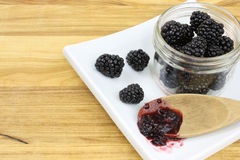 Blackberry Jam IV Royalty Free Stock Image