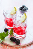 Blackberry Lemonade Royalty Free Stock Photo