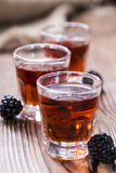 Blackberry Liqueur Royalty Free Stock Images