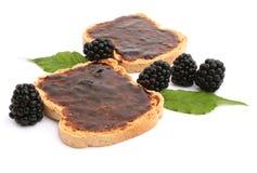 Blackberry marmalade Stock Image